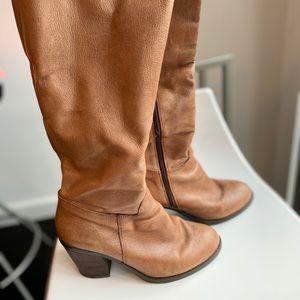 Nine West boots.